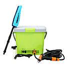 Портативная автомобильная мойка душ от прикуривателя High Pressure Portable Car Washer / автомойка /мойка авто, фото 4