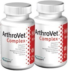 VetExpert ArthroVet HA Complex (Артровет ГК Комплекс) 90таблеток