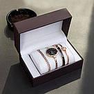 Часы в подарочной упаковке watch set ANNE KLEIN  Gold black / женские часы в стиле ANNE KLEIN, фото 4