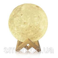 """Детский ночник 3D """"Луна"""" / светильник / лампа / 3D Moon Touch Control 15 см, светильник ночник"""