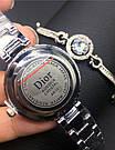 Часы в подарочной упаковке WATCH SET Dior / женские часы / ручные часы / наручные кварцевые часы, фото 7