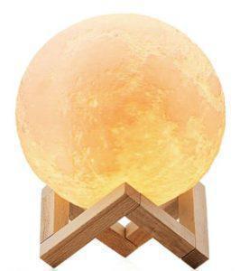 """Детский ночник 3D """"Луна"""" / светильник / лампа / 3D Moon Touch Control 12 см, светильник ночник"""
