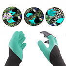Садовые перчатки с когтями Garden Genie Gloves / Гарден Джени Гловес / перчатки / перчатки для сада и огорода, фото 6
