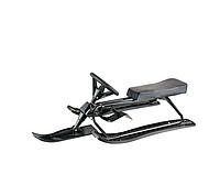 Санки с рулем KIDIGO 83.5х44х18 см Черный (126824)