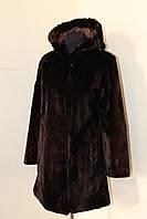 Теплая шуба на зиму стриженный бобер! шуба натуральный мех, фото 1