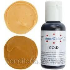 Краситель гелевый Америколор (Americolor) Золотой (Gold) № 135