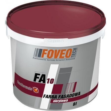 Фасадна акрилова фарба FА 10 4.5л, біла PL ФОВЕО