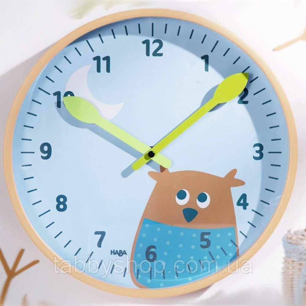 """Настенные часы HABA """"Мудрая сова"""""""