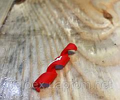 Защита рамы Alligator от трения рубашек Spiral красная