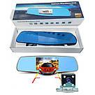 Зеркало с видеорегистратором vehicle blackbox DVR Full HD, фото 2