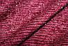 Бордо.ангора, слабая полоса. волосинки люрекса редкие, мягкая