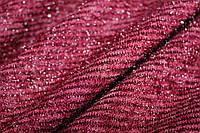 Бордо.ангора, слабая полоса. волосинки люрекса редкие, мягкая, фото 1