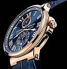 Часы в стиле Ulysse Nardin Marine / мужские часы / наручные часы / кварцевые часы, фото 7