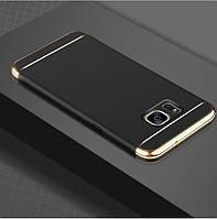 Чехол с золотыми вставками для Samsung Galaxy Note 5 (2 Цвета)