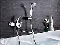 Смеситель для ванны SANTEP 1346 c длинным изливом, фото 1