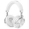 Беспроводные Bluetooth наушники Bluedio T4 с металлическим каркасом (Белый)