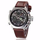 Наручные мужские армейские часы AMST Watch / спортивные наручные часы в стиле АМСТ, Коричневый, фото 5