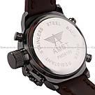 Наручные мужские армейские часы AMST Watch / спортивные наручные часы в стиле АМСТ, Коричневый, фото 6