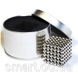Neocube (неокуб) 216 кульок по 5 мм в коробочці / оригінальний подарунок магнітний куб