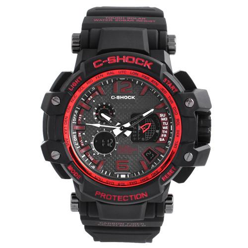 Часы наручные C-SHOCK GPW-1000 Black-Red, BOX