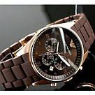 Наручные часы Emporio Armani / мужские часы / Стильные часы в стиле Эмпорио Армани Коричневый, часы, фото 3