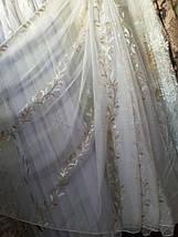 Тюль шифоновая оптом B-434, фото 3