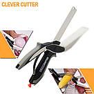 Универсальные кухонные ножницы Clever cutter / нож-ножницы 3 в 1 / умные ножницы, фото 2