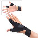 Перчатки с подсветкой hand-free light для ремонта авто, спорта, рыбалки, туризма / перчатка фонарик, фото 5