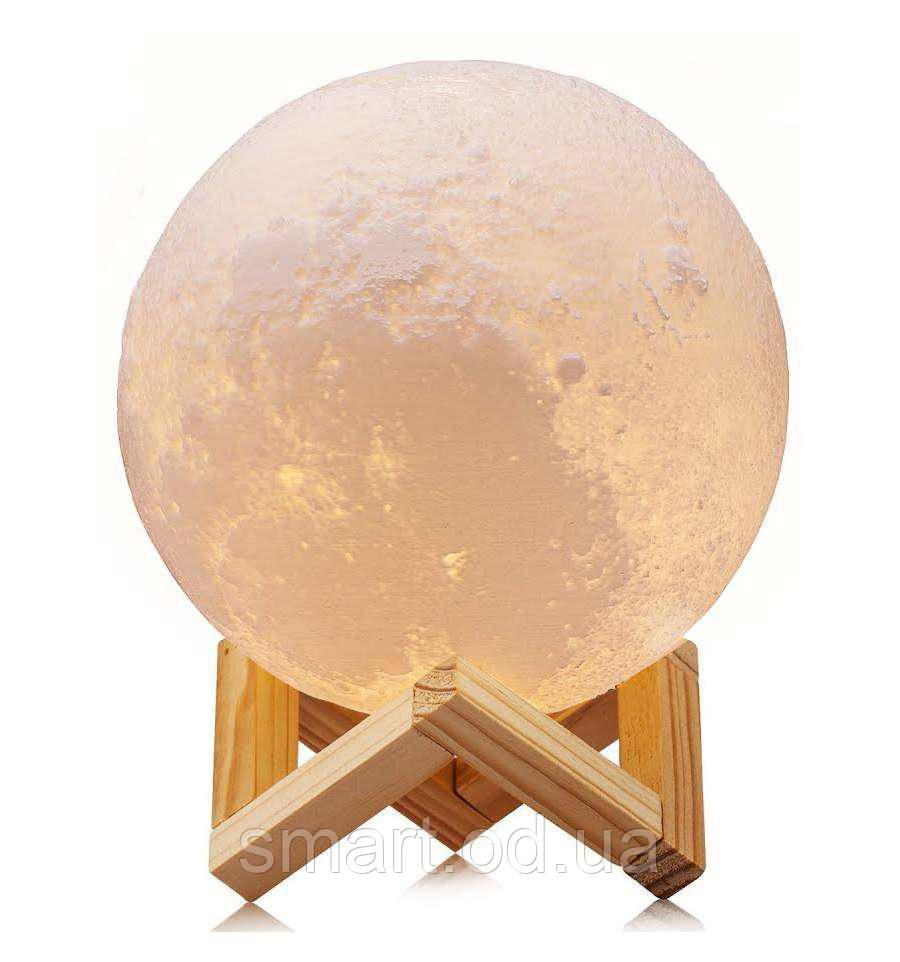 """Детский ночник 3D """"Луна"""" / светильник / лампа / 3D Moon Touch Control 10 см, стильный светильник"""