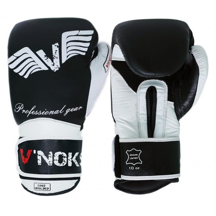 Боксерские перчатки V`Noks Aria White 10 ун., фото 1