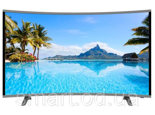 "Плазменный Smart LCD LED  Телевизор JPE 32"" DU1000  Изогнутый / HD экран / T2 / USB / HDMI / VGA телевизор jpe 32"