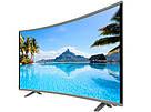 "Плазменный Smart LCD LED  Телевизор JPE 32"" DU1000  Изогнутый / HD экран / T2 / USB / HDMI / VGA телевизор jpe 32, фото 7"