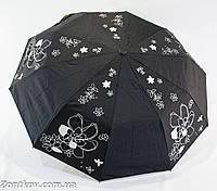 """Женский зонт полуавтомат с серебристой пропиткой на 10 спиц от фирмы """"Bellissimo""""., фото 1"""