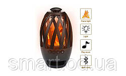 Портативная колонка Flame Atmosphere Wireless Speaker BTS-596