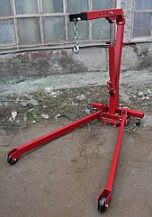 Кран гидравлический складной подкатной 1т VS1T