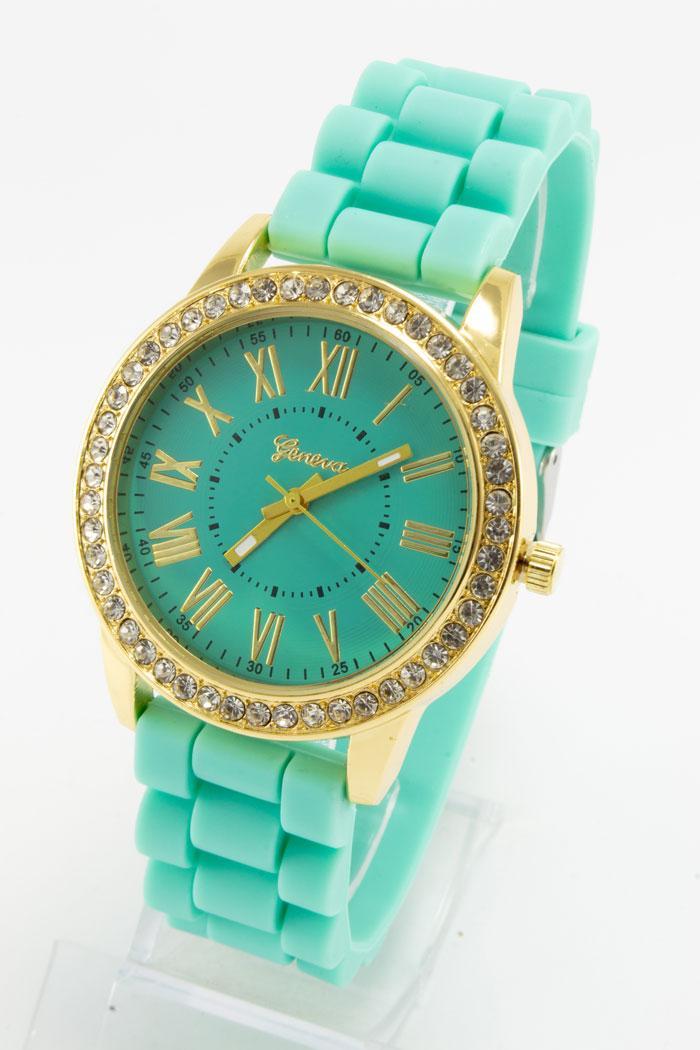 73b19f7f9fcb Купить Женские Наручные Часы Geneva (код  15085) — в Категории