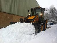 Уборка снега в Киеве. КРУГЛОСУТОЧНО!