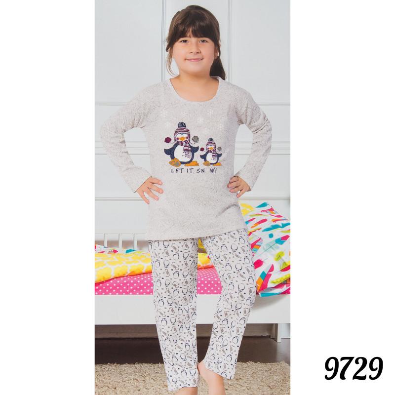 Недорогая пижама детская на байке девочке
