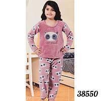 Бордовая пижама детская девочкам опт Soft