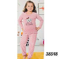 Детская пижама розовая для девочки в Украине. Сравнить цены 8164cb5dd86d5