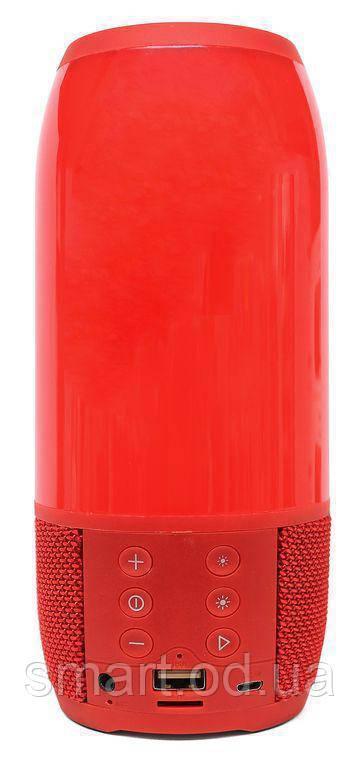 Портативная беспроводная bluetooth колонка JBL Pulse 3 реплика c PowerBank в подарок, Красная