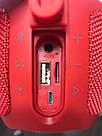 Портативная беспроводная bluetooth колонка JBL Pulse 3 реплика c PowerBank в подарок, Красная, фото 3