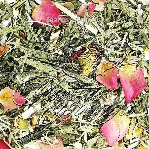 Зелений чай «Чебрець-Персик»