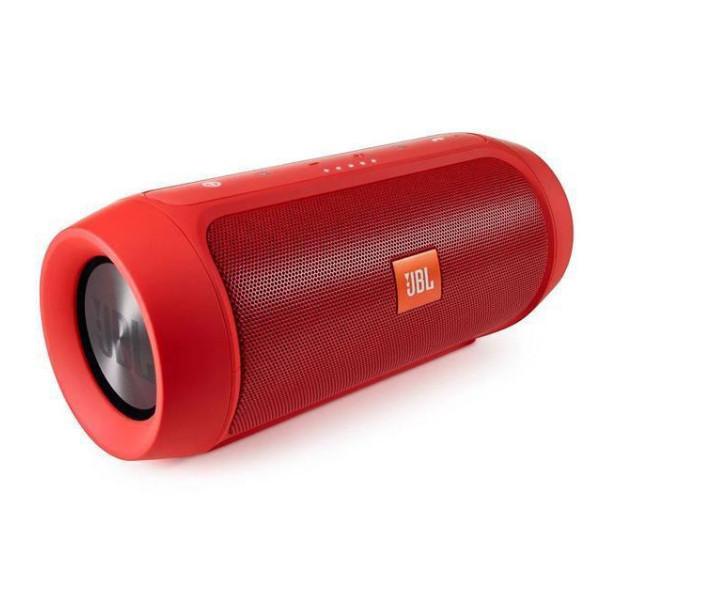 Портативная беспроводная bluetooth колонка JBL Charge 2+ реплика c PowerBank в подарок, Красная