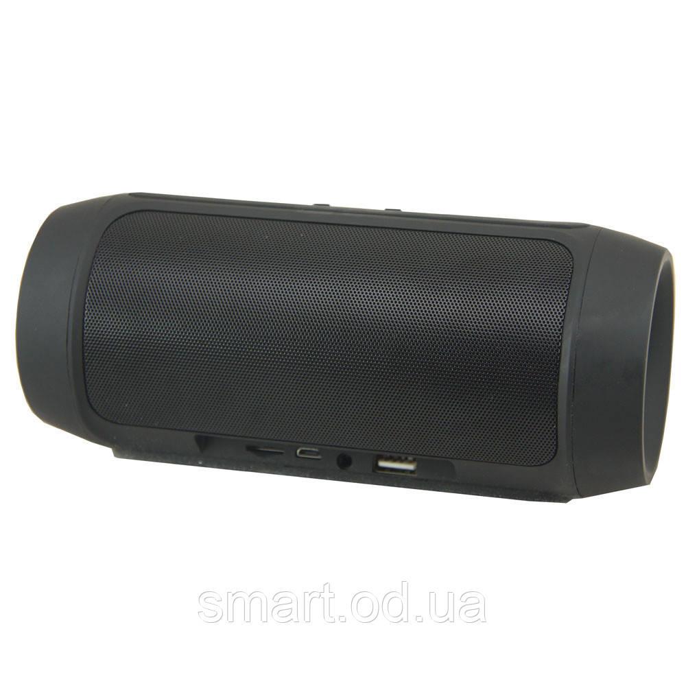 Портативная беспроводная bluetooth колонка JBL Charge 2+ реплика c PowerBank в подарок, Чёрный