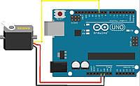 Подключение  и управление сервоприводом с Arduino