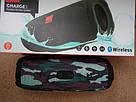 Портативная беспроводная bluetooth колонка JBL Charge 3 реплика c PowerBank в подарок, Камуфляж, фото 4