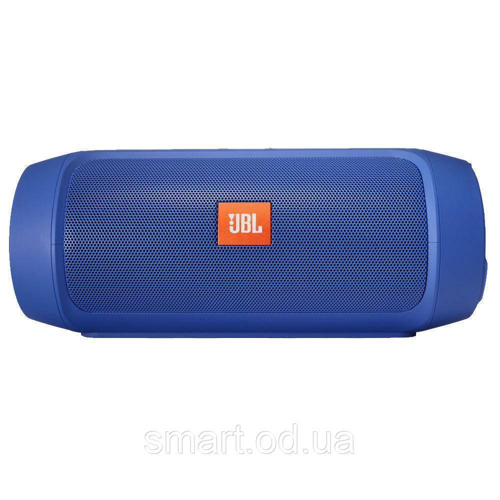 Портативная беспроводная bluetooth колонка JBL Charge 2+ реплика c PowerBank в подарок, Синяя