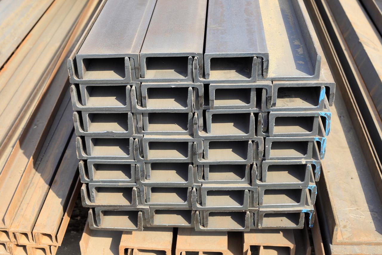 Швеллер стальной №14 мм L=12,04 м - 800188597 | VALSIMET - продажа металлопроката оптом и в розницу в Украине | Купить металлопрокат в Украине по лучшей цене