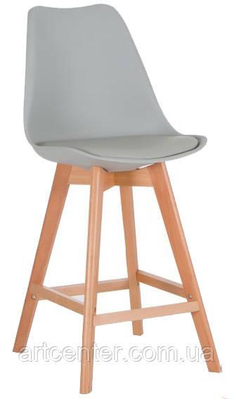 Стул для визажиста, стул для бара, стул для администратора, стул для кассира (ЭЛИОС серый)